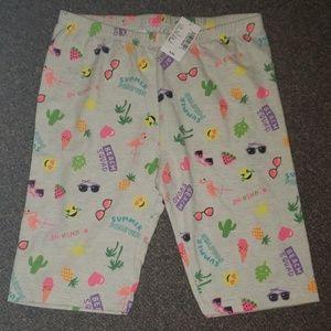 Girls size Lg 10/12 bicycle shorts